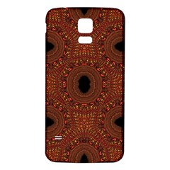 Crazy Beautiful Abstract  Samsung Galaxy S5 Back Case (White)