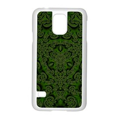 Crazy Beautiful Abstract  Samsung Galaxy S5 Case (white)