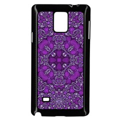 Crazy Beautiful Abstract  Samsung Galaxy Note 4 Case (Black)