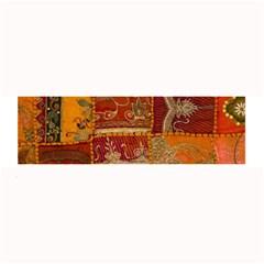 India Print Realism Fabric Art Large Bar Mats