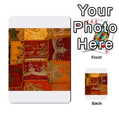 India Print Realism Fabric Art Multi-purpose Cards (Rectangle)