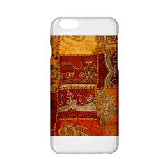 India Print Realism Fabric Art Apple Iphone 6 Hardshell Case