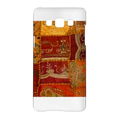 India Print Realism Fabric Art Samsung Galaxy A5 Hardshell Case