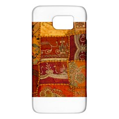 India Print Realism Fabric Art Galaxy S6