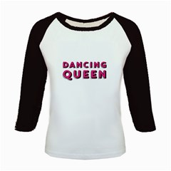 Pink Dancing Queen  Kids Baseball Jerseys