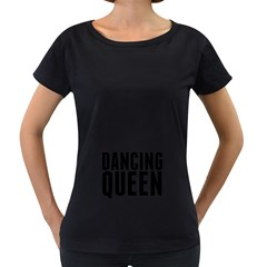 Dancing Queen  Women s Loose-Fit T-Shirt (Black)
