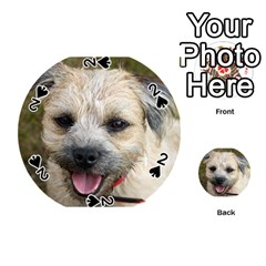 Border Terrier Playing Cards 54 (Round)