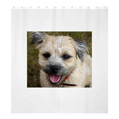 Border Terrier Shower Curtain 66  x 72  (Large)