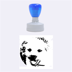 Border Terrier Rubber Round Stamps (Medium)