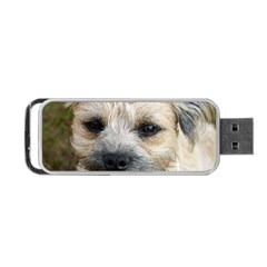 Border Terrier Portable USB Flash (One Side)