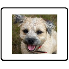 Border Terrier Double Sided Fleece Blanket (Medium)