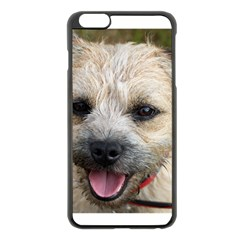 Border Terrier Apple iPhone 6 Plus Black Enamel Case