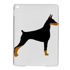 Doberman Pinscher black and tan silhouette iPad Air 2 Hardshell Cases