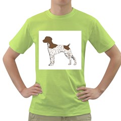 German Shorthair Pointer Silo Color Green T-Shirt