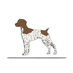 German Shorthair Pointer Silo Color Plate Mats