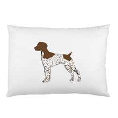 German Shorthair Pointer Silo Color Pillow Cases (Two Sides)