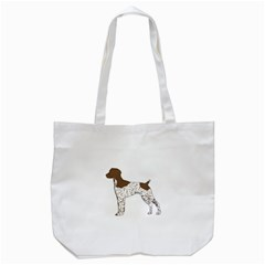 German Shorthair Pointer Silo Color Tote Bag (White)