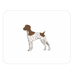 German Shorthair Pointer Silo Color Double Sided Flano Blanket (Large)