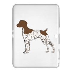 German Shorthair Pointer Silo Color Samsung Galaxy Tab 4 (10.1 ) Hardshell Case