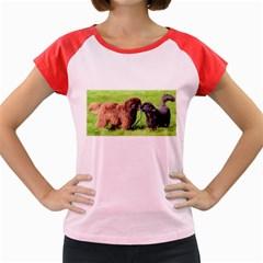 2 Newfies Women s Cap Sleeve T-Shirt