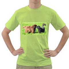 2 Newfies Green T-Shirt