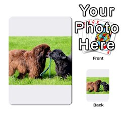 2 Newfies Multi-purpose Cards (Rectangle)