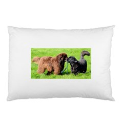 2 Newfies Pillow Cases