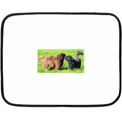 2 Newfies Fleece Blanket (mini)