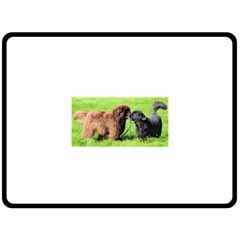 2 Newfies Fleece Blanket (Large)