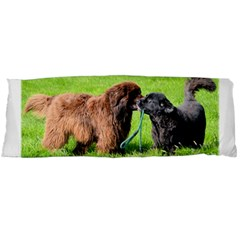 2 Newfies Body Pillow Cases (Dakimakura)