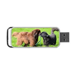 2 Newfies Portable USB Flash (One Side)
