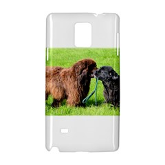 2 Newfies Samsung Galaxy Note 4 Hardshell Case