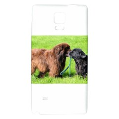 2 Newfies Galaxy Note 4 Back Case