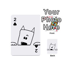 Peeping Westie Playing Cards 54 (Mini)