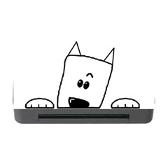Peeping Westie Memory Card Reader with CF