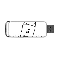 Peeping Westie Portable USB Flash (Two Sides)