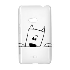 Peeping Westie Nokia Lumia 625