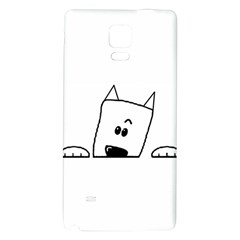 Peeping Westie Galaxy Note 4 Back Case