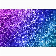 Glitter Ocean Bokeh Collage 12  x 18