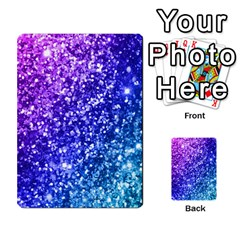 Glitter Ocean Bokeh Multi Purpose Cards (rectangle)
