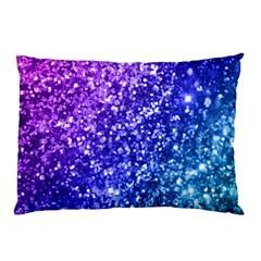 Glitter Ocean Bokeh Pillow Cases