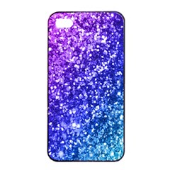 Glitter Ocean Bokeh Apple iPhone 4/4s Seamless Case (Black)