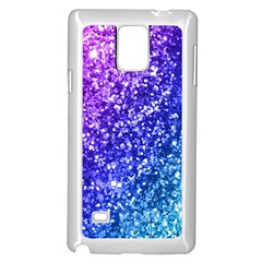 Glitter Ocean Bokeh Samsung Galaxy Note 4 Case (White)