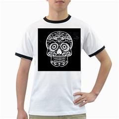 Skull Ringer T Shirts