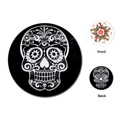 Skull Playing Cards (Round)