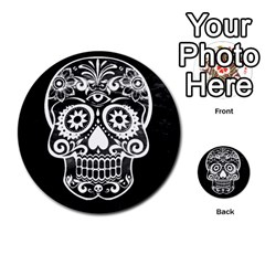 Skull Multi Purpose Cards (round)