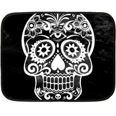 Skull Fleece Blanket (Mini)