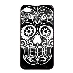 Skull Apple iPhone 4/4s Seamless Case (Black)
