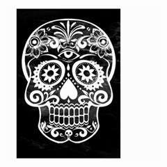 Skull Small Garden Flag (two Sides)