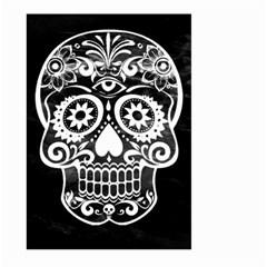 Skull Large Garden Flag (two Sides)